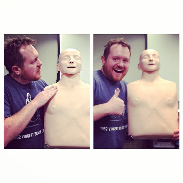 CPR Certification never looked so fun.