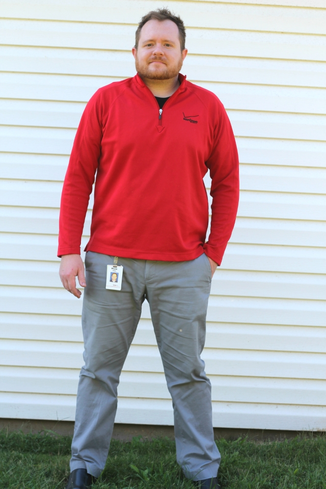 Pants: Express| Pullover: VZW Swag!